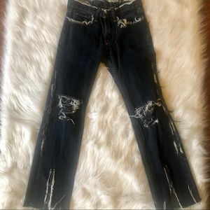 Abercrombie Kids Custom Made Distressed Jeans